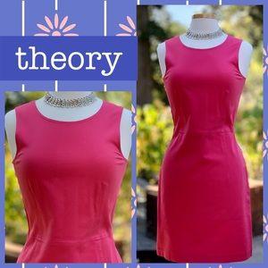 THEORY stretch sheath dress